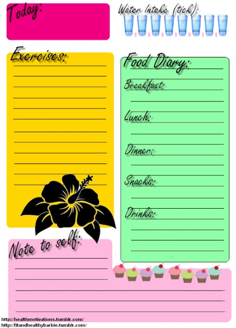 food and exercise journal template - eve was partially right clean eating is good eating
