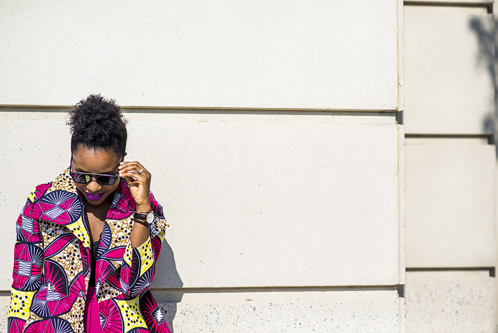 How to incorporate Ankara to your work wear featuring Yetunde Sarumi