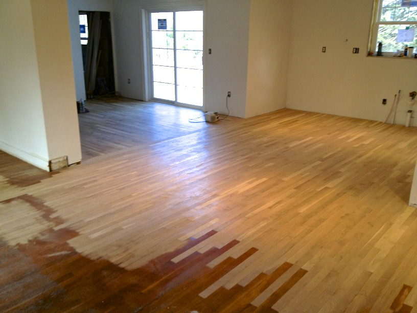 Sopo Cottage Mixing Old And New Hardwood Floors