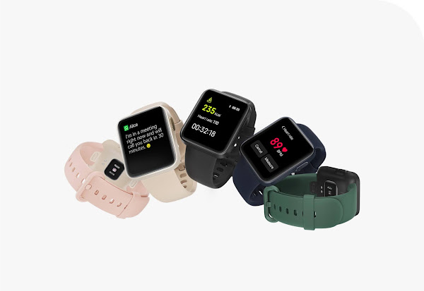 Xiaomi Mi Watch Lite é oficial