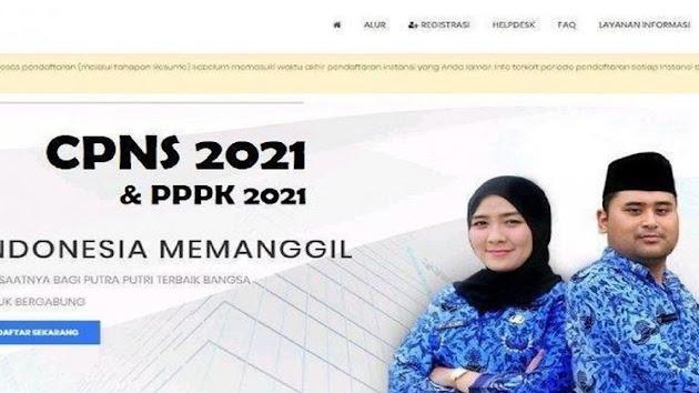 Pemerintah Resmi Umumkan Pendaftaran CPNS dan PPPK 2021, Pelamar Dipastikan Gugur Jika Lakukan Ini Saat Mendaftar, Simak Link Berikut