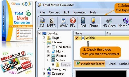 Download Coolutils Total Movie Converter 3