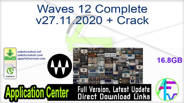 Waves 12 Complete v27.11.2020 + Crack