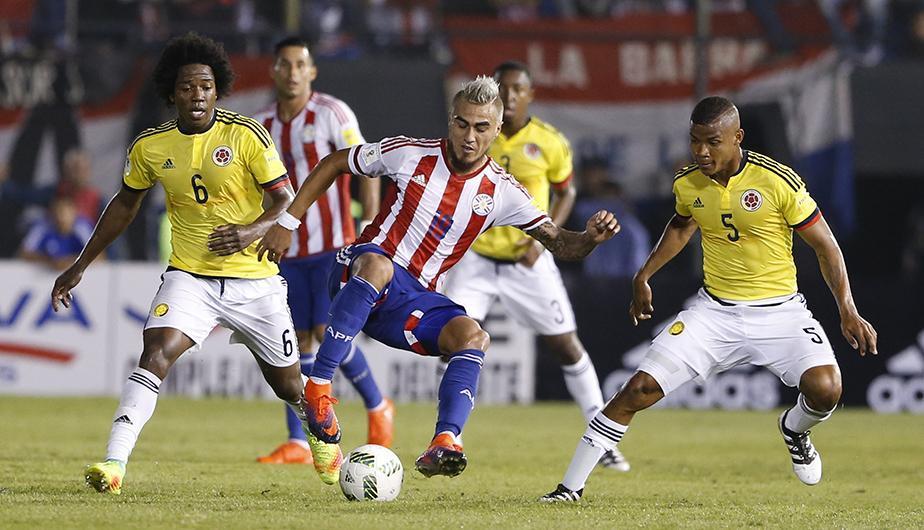 Colombia vs Paraguay EN VIVO por la Clasificatorias