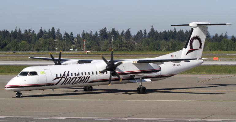 reputable site 076a0 360e8 Horizon Air Q400 Stolen From SeaTac Airport  Flying around rogue   Reportedly crashed
