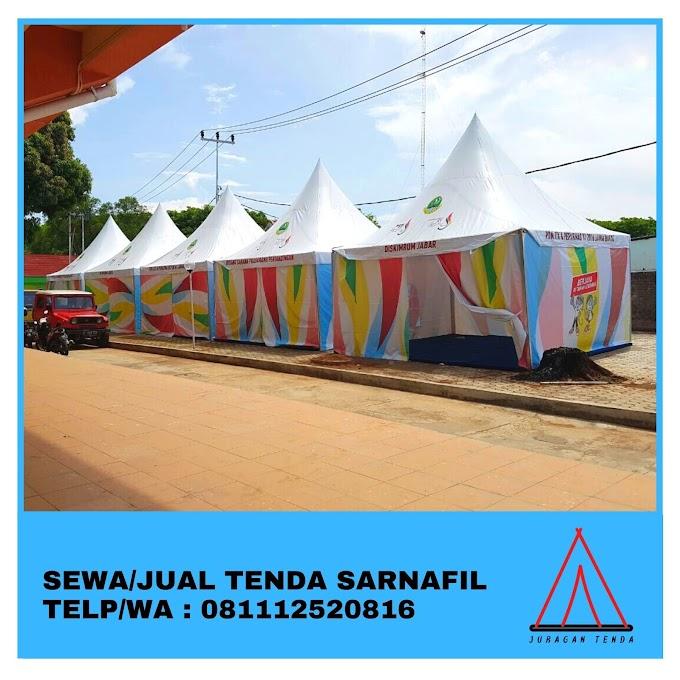 Jual Tenda Sarnafil | Tenda Kerucut 5x5 m | Bekasi 081112520816