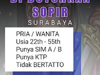 lowongan sopir di surabaya