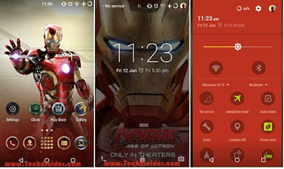 Iron Man Cm12 Theme