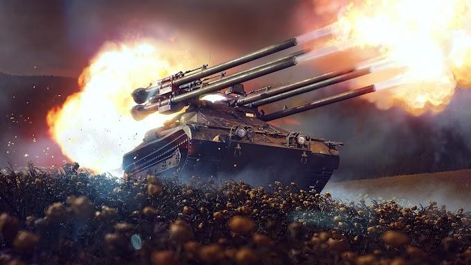 Plano de Fundo Tanque de Guerra