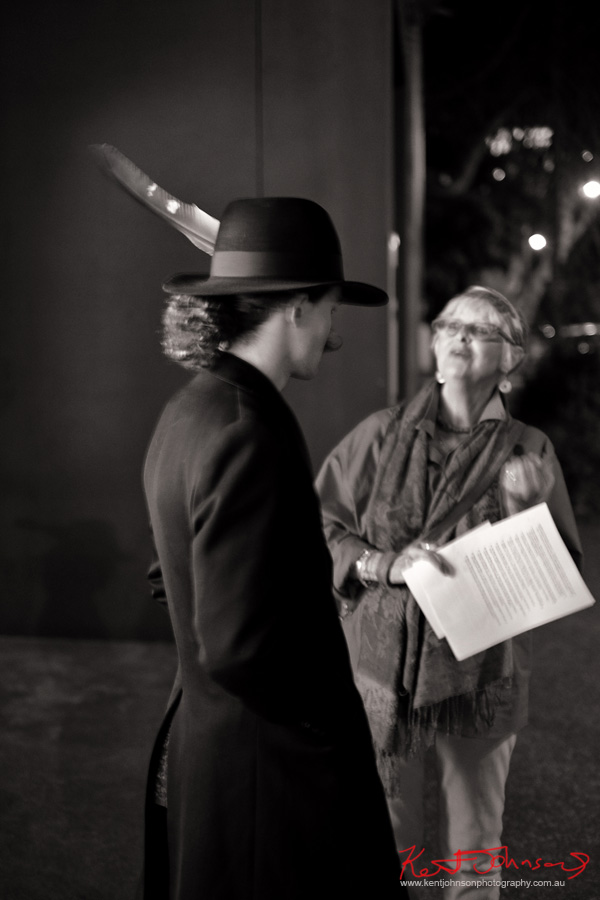 Menswear in black and white, An Eagles Feather in my Hat. Photographed by Kent Johnson.