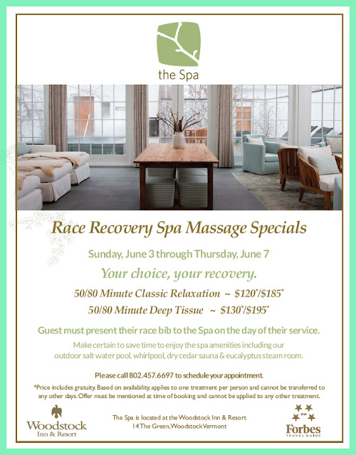 Pamper Yourself or Your Support Crew at the Spa at the Woodstock Inn and Resort After the CBHM