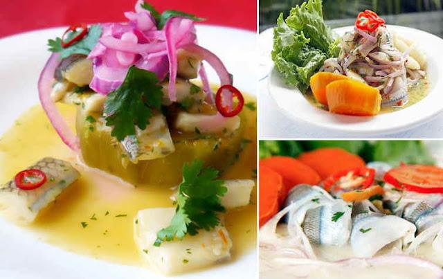 receta de cebiche de pejerrey peruano