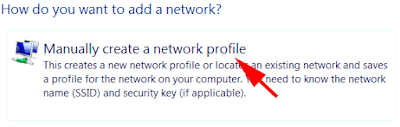 add network ssid profile