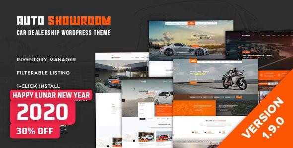 Download Auto Showroom v1.9.0 – Car Dealership WordPress Theme
