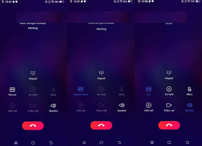 Cara Merekam Panggilan di Vivo V15 / Vivo V15 Pro