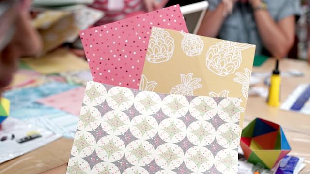 papel scrapbook creative park