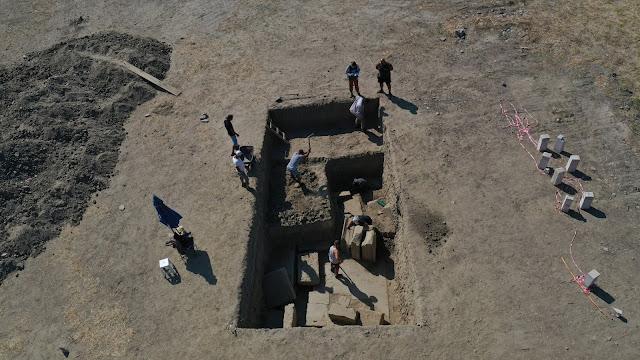 Η ανασκαφή έφερε στο φως την πύλη του Ναού του Διός