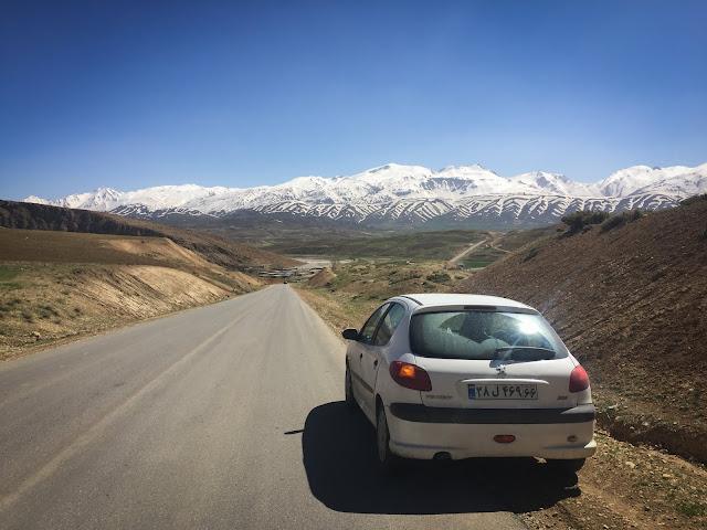 Around Chelgerd, Iran