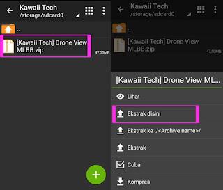 Cara Mengaktifkan Drone View (Memperluas Map) Di Mobile Legend
