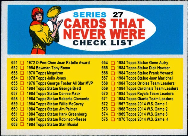 6c94e5e642a3 Cards That Never Were  1957 Topps Football Checklist - Cards That ...