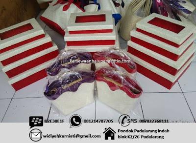 Harga Sewa Kotak Hantaran Seserahan Pernikahan di Bandung