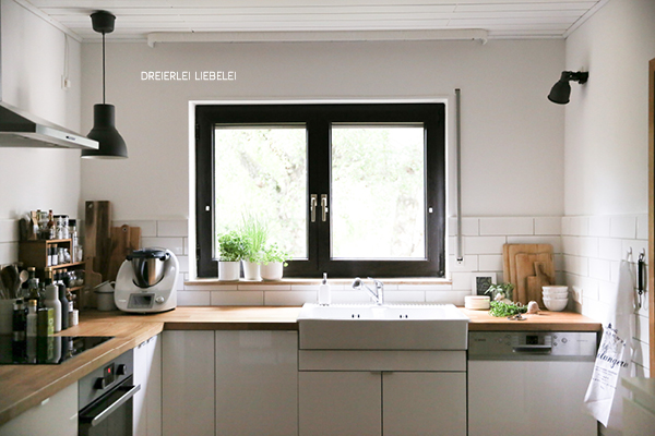 Dreierlei Liebelei Unser neues Zuhause Küche