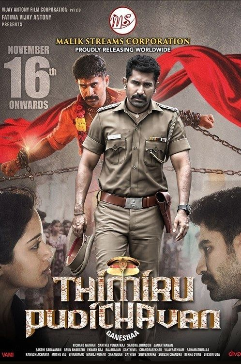 Thimiru Pudichavan (Police Power) 2018 Dual Audio ORG Hindi UNCUT 720p HDRip 1.6GB ESubs 2