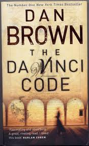 Da Vinci Code by Dan Brown cover