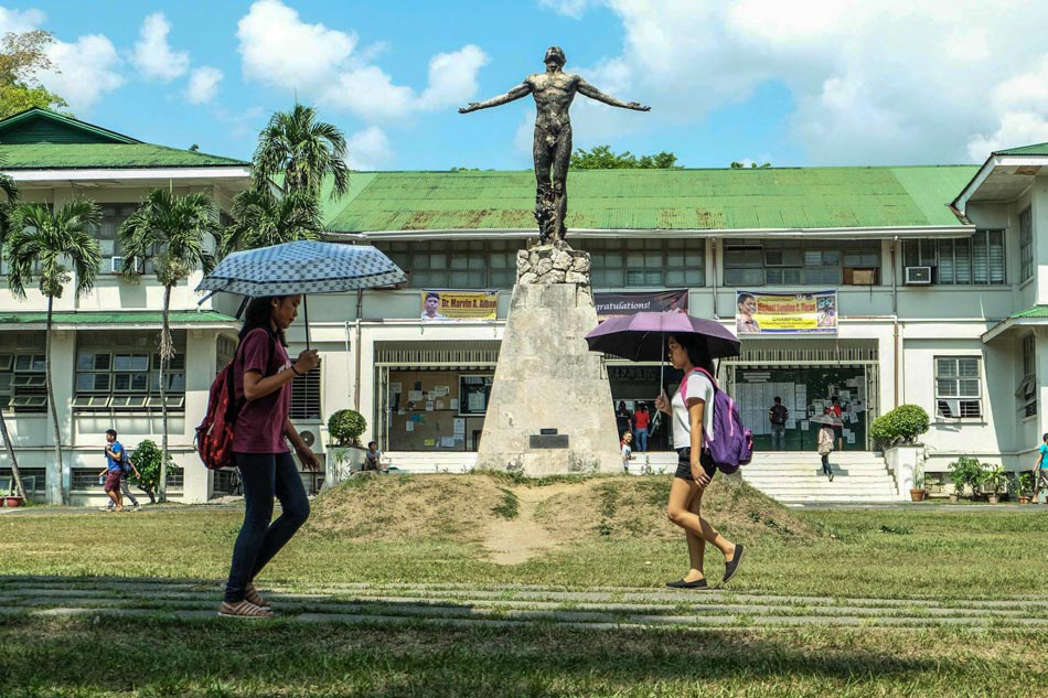 "UP Manila, UP Los Baños : ""No tuition fee for now"""