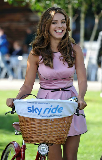 KELLY BROOK at Launch of Mayor of London's Sky Ride