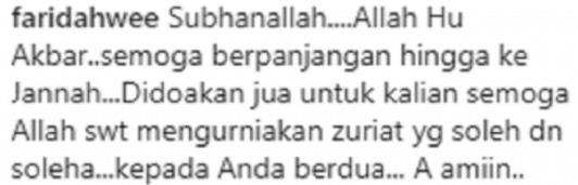 Ucapan Romantis Mizz Nina Buat Noh Salleh Buat Netizen 'Cair'