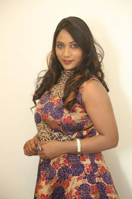 Meghana Stills At HBD Movie Pre Release Event