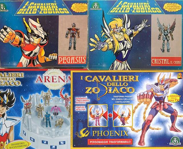 phoenix v1 pegasus v1 cavalieri dello zodiaco saint seiya ikki vintage bandai