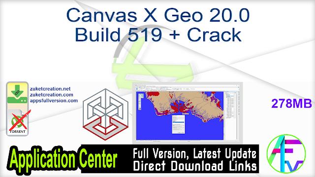 Canvas X Geo 20.0 Build 519 + Crack