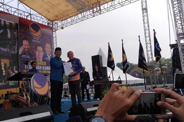 Tiga Syarat Partai Nasdem Untuk Pencalonan Ridwan Kamil Maju Pilgub Jawa Barat 2018