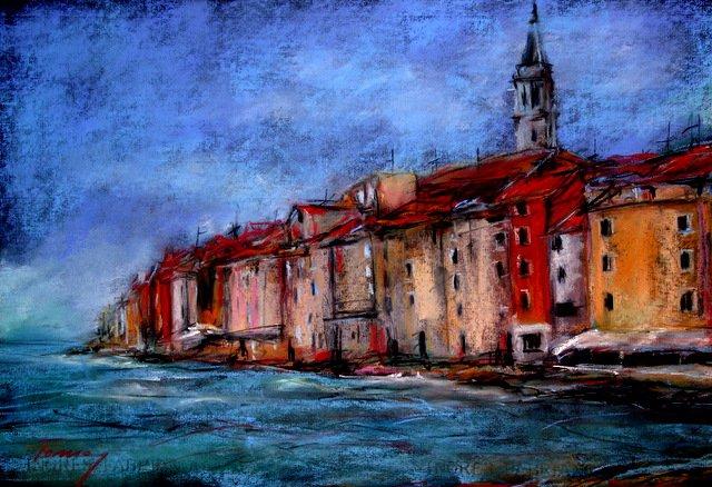 Béla Tarcsay ~ Pintura abstrata