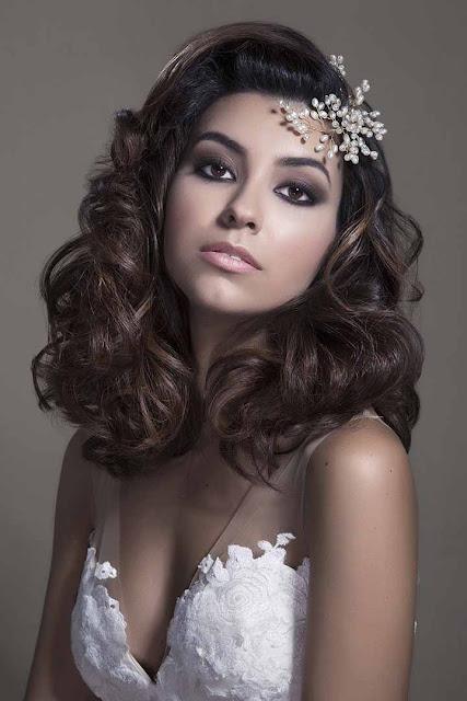 peinados de novia melenas