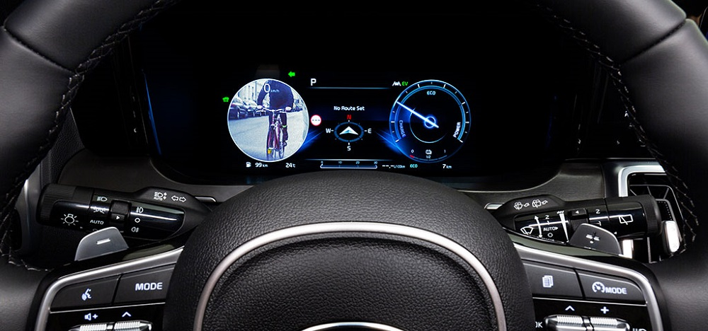 Blind-Spot View Monitor technology