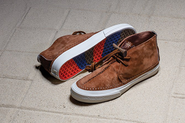 269ff98480 Vans Vault Taka Hayashi TH Chukka Nomad LX. (Premium Suede Pony Hair)  Chestnut. VN0A2Y34KCP