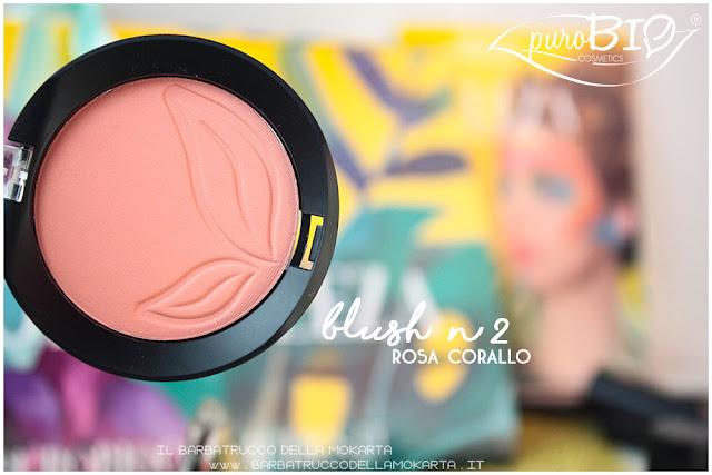 blush rosa corallo  purobio recensione review