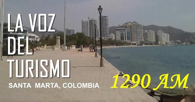 La Voz del Turismo 1290 AM - Santa Marta, Colombia
