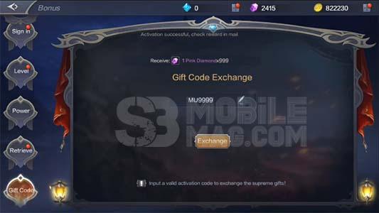 MU Origin 2 Gift Code