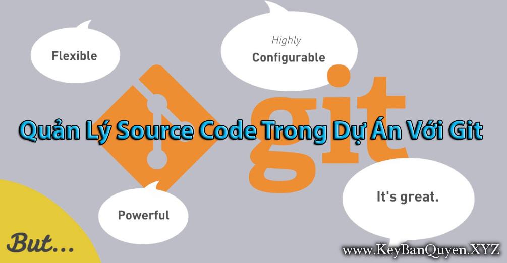 Khóa học Quản lý source code trong dự án với GIT