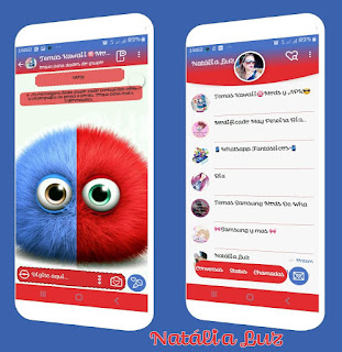 Cute Theme For YOWhatsApp & Fouad WhatsApp By Natalia Luz