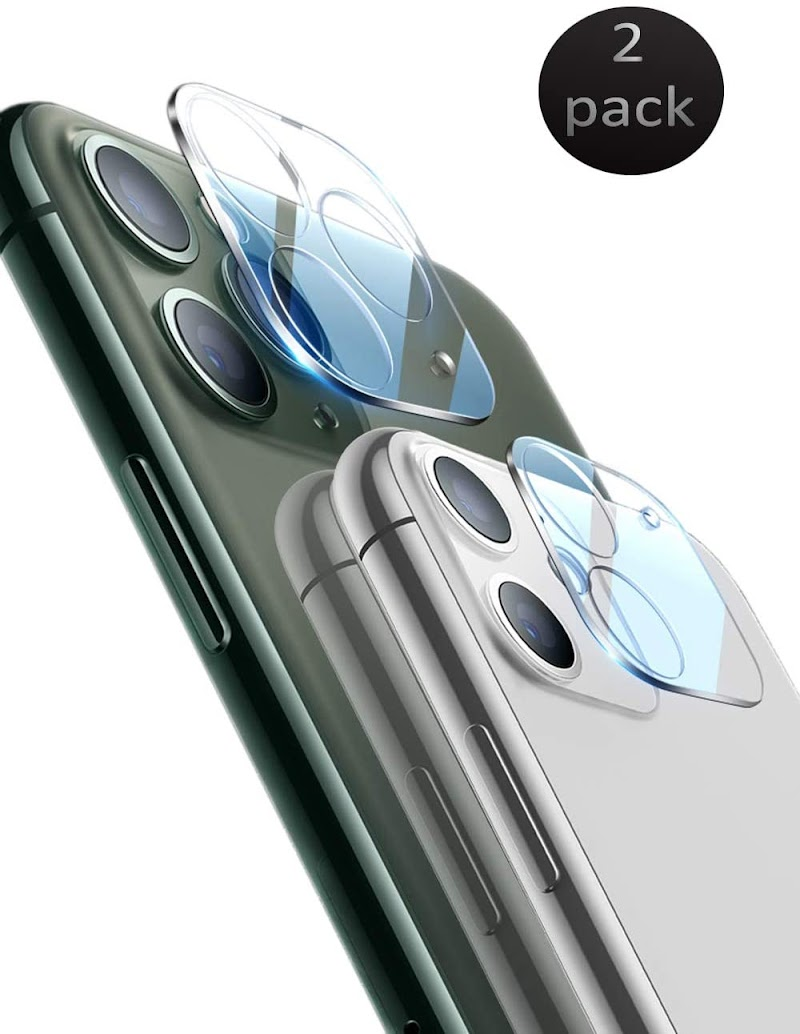 50% Off  [2 Pack] Tempered-Glass Camera Lens Protector for iPhone 11 Pro Max 5