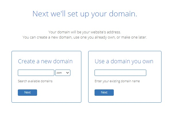 Bluehost-Domain Name
