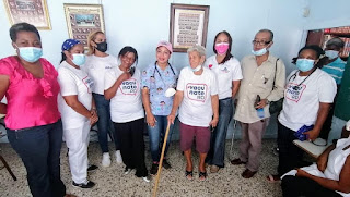 Dra.Seleyda Lorenzo Lleva Operativos Médicos, en el Libertador de Herrera