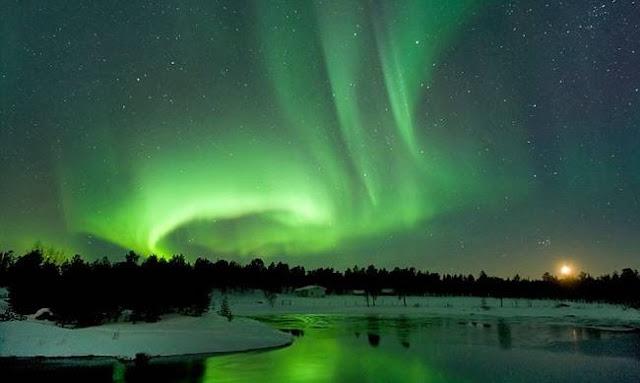 Εκπληκτικό: Η μαγεία του Βόρειου Σέλας στη Φιλανδία (βίντεο)