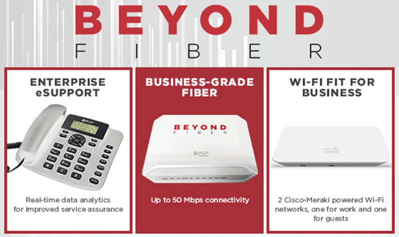 PLDT launches BEYOND FIBER connectivity package for businesses, starts at PHP 2,500