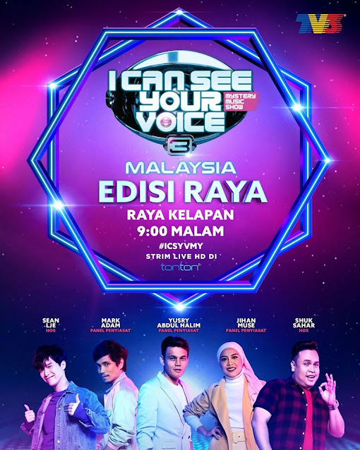 I Can See Your Voice Malaysia 3 Raya 2020 Full